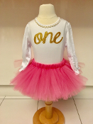 I'm One Onesie & Tutu Set