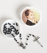St. Joseph Communion Boy Rosary/Case