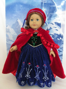 "18"" Doll Anna's Outfit"