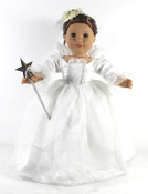 "18"" Doll Fairy Godmother Outfit"