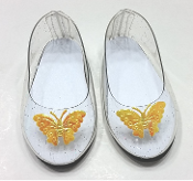 "18"" Doll Cinderella Shoes"