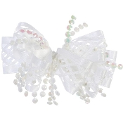 Ribbon and Beads Hair Clip