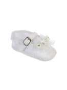 Infant Girl's Satin Crib Shoes