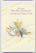 GREETING CARD - GIRL COMMUNION,Communion,Communion Dress,First Holy Communion,First Holy Communion Dress,First Holy COmmunion Suit,Communion Suit Mississauga,Communion Dress Mississauga,Communion Shoes,Communion