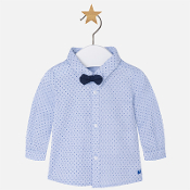 Mayoral Baby Boy LS Shirt with Bowtie/Trousers