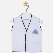 Mayoral Baby boy vest with non-functioning pocket