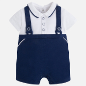 Mayoral Baby boy sailor style onesie