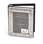 4x6 Pewter Photo Album Baptism