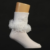 Girls Ruffled Socks
