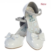 "Sweapea ""Bella"" High Heel Shoe w/Rhinestone Strap"