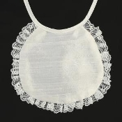 Silk Laced Bib