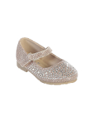 Infant Glitter Shoes with Ankle Strap
