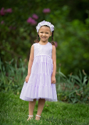Isobella & Chloe Lilac Polly Dress