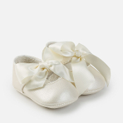 Mayoral Baby Bow Buckle Shoes