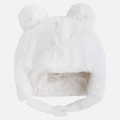 Mayoral Baby Faux Fur Hat