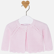Mayoral Baby Girl Basic Knit Cardigan