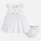 Mayoral Baby Girl Swiss Dot Dress