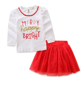 Merry and Bright Shirt & Tutu Set