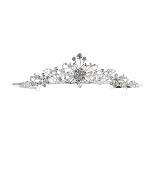 Rhinestone Tiara/Crown w/Crystals