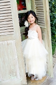 Dull Satin dress with beaded short sleeves,flower girl dress,flower girl dress toronto,flower girl dress oakville,flower giel dress mississauga,flower girl dress brampton, flower girl dress gta,flower girl dress canada,flower girls