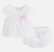 Mayoral Baby Plumeti Blouse Set