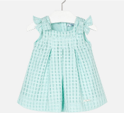Mayoral Baby girl Structure Dress with Bows