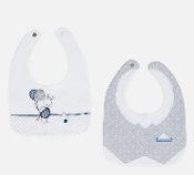 Mayoral Baby Embroidered Bibs Set