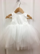 Princess Daliana Jaquard Tulle Infant Dress