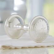 Mudpie Silverplated Rattle
