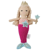 Mudpie Mermaid Tooth Fairy Doll