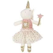 Mudpie Unicorn Tooth Fairy Doll