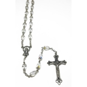 8x6mm Crystal Rosary