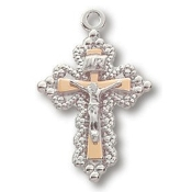 Sterling Silver Crucifix on 18in Chain