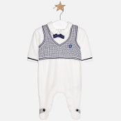 Mayoral Baby boy Knit vest onesie