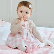Mayoral Baby girl Plaid Dress