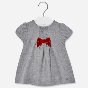 Mayoral Baby Girl Flannel dress