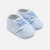 Mayoral Baby Velvet Shoes