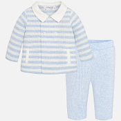 Mayoral Baby boy Set of jacket and trousers