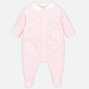Mayoral Baby girl Velour pyjamas