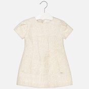 Mayoral Jacquard dress