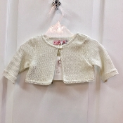 M&B Fashion Ivory Shimmer Sweater