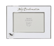6x4 WHITE HIGH GLOSS MY CONFIRMATION FRAME