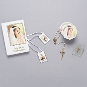 St. Joseph Communion Girl Gift Set