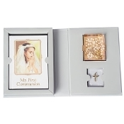 St. Joseph Communion Girl Folder Gift Set
