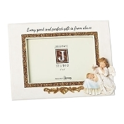 4X6 Angel with Baby Frame