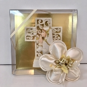 "7"" Personalized Communion Plate Bomboniere"