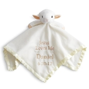 Snuggly,Embroidered,Bearington Baby Blessings Snuggler
