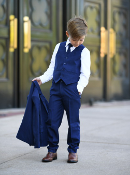 Boys Slim 5pc Suit