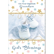 GREETING CARD - BAPTISM/GODSON