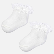 Mayoral Baby girl Dressy socks with Flounce
